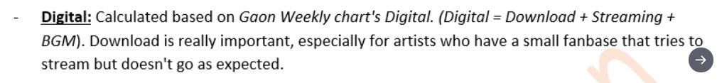 For those who ask why Blackpink's Digital score is lower.  Blackpink only has 4 days to accumulate points for streaming and downloading, which is why BP has fewer digital points this week. and Music Core used Gaon for their chart. That's why. <br>http://pic.twitter.com/obmxUsfMFa