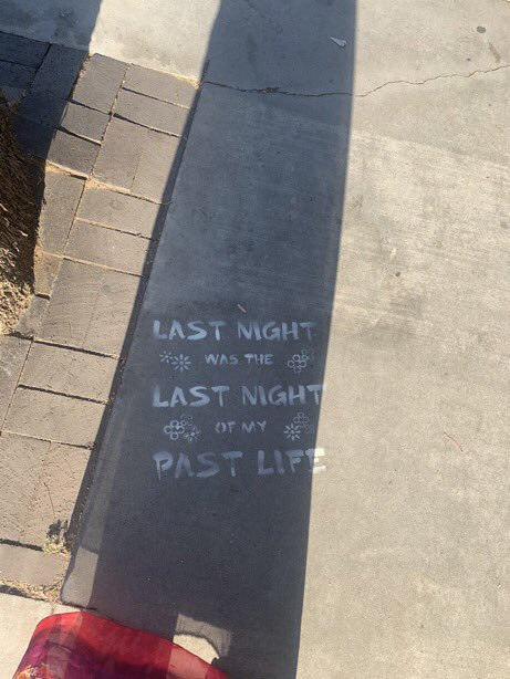 THE PAST LIFE LYRICS WAS SPOTTED IN MULTIPLE LOCATIONS (first pic in california, second pic in texas),, SOMETHING IS COMING AHHHH https://t.co/5a7Q8m7rMJ