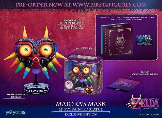 3000RT:【限定1万個】『ゼルダの伝説』の「ムジュラの仮面」レプリカが予約販売開始!仮面は壁掛け可能で、目も光るという。価格は約1万3000円で、日本への発送も行っているとのこと。
