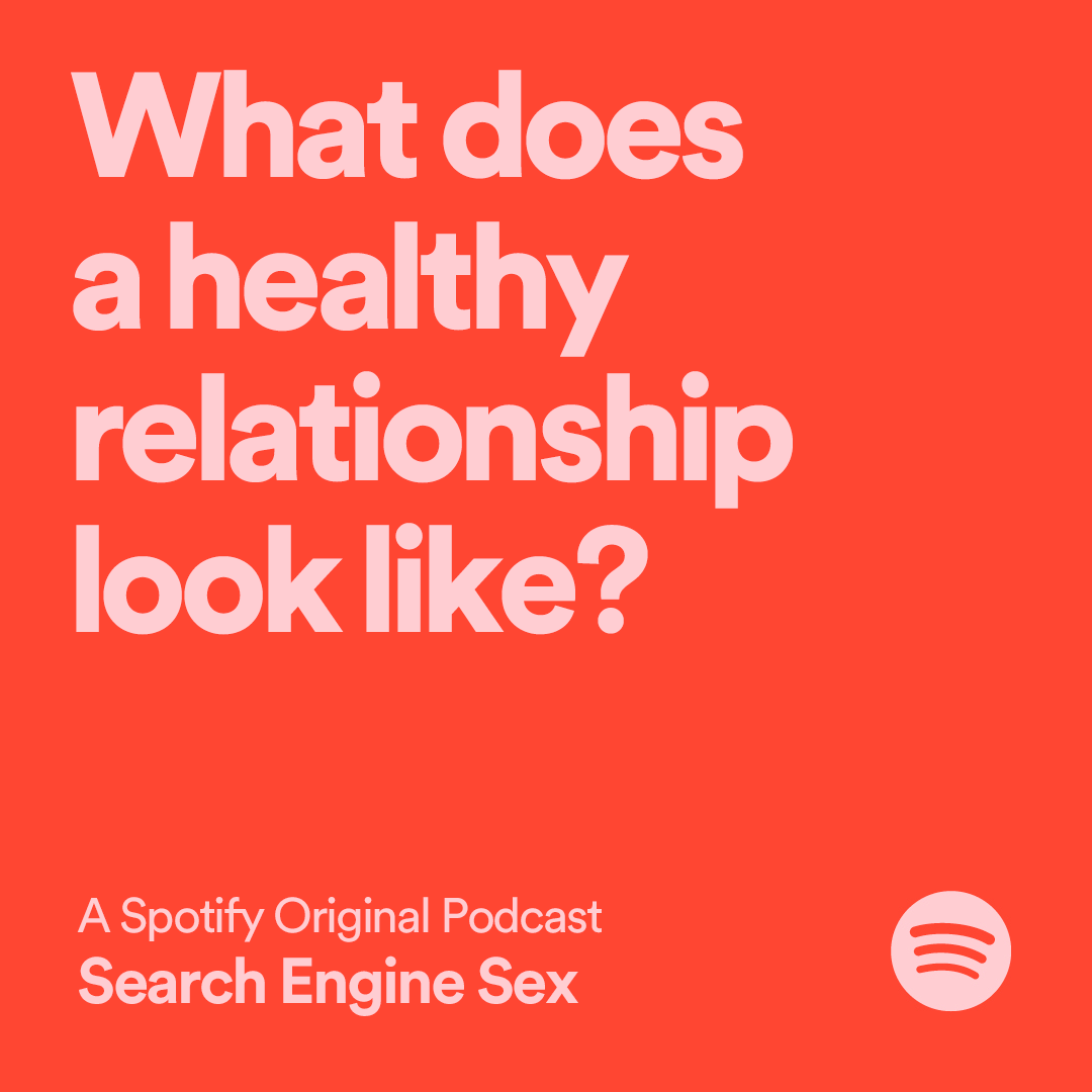 3 episodes in and Search Engine Sex is not slowing down. Today's is 'What does a healthy relationship look like?'. Listen on Spotify now: https://t.co/2fi5TFcWXx https://t.co/MGrux6LWLx