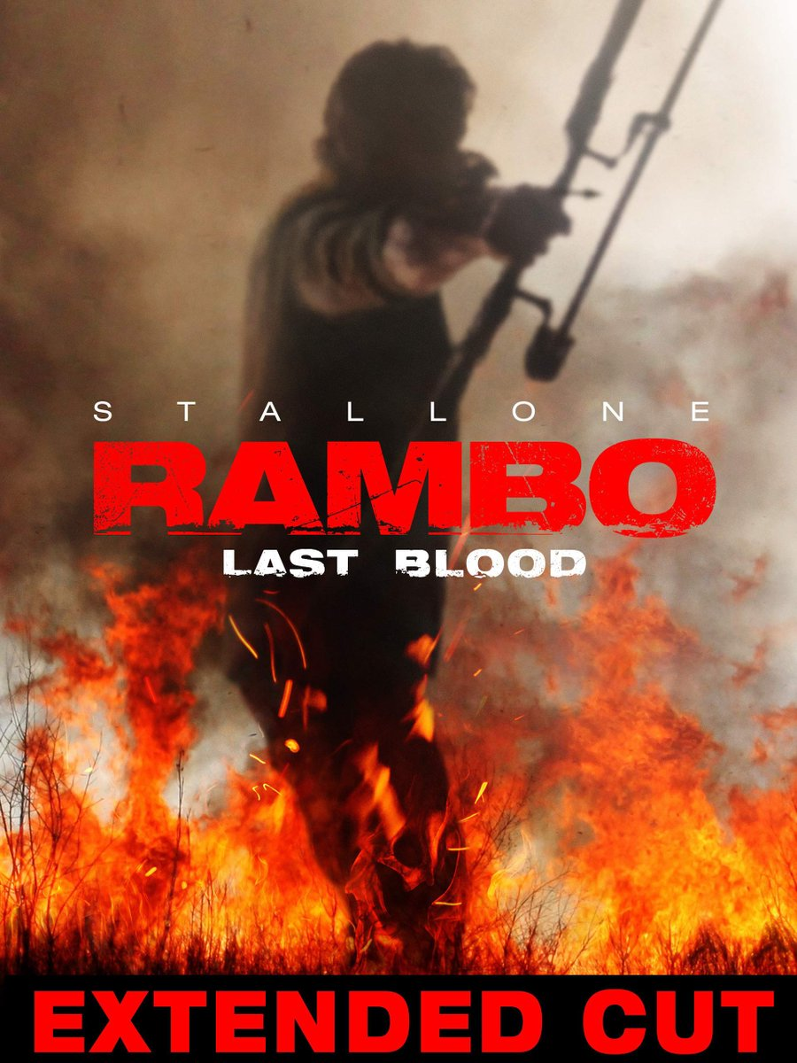 "Just watched Rambo ""last blood"" extended cut ..I liked the added scenes made it feel more like a Rambo movie @TheSlyStallone #rambo<br>http://pic.twitter.com/qV3xYZuS5H"