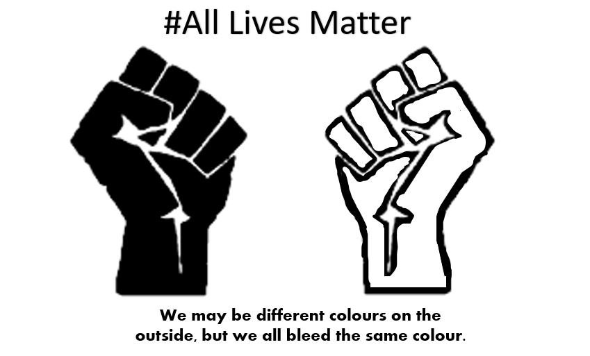 #BLACK_LIVES_MATTER #ALLLIVESMATER #Whitelifematters #GeorgeFloydProtests https://t.co/FnSWCvJQba