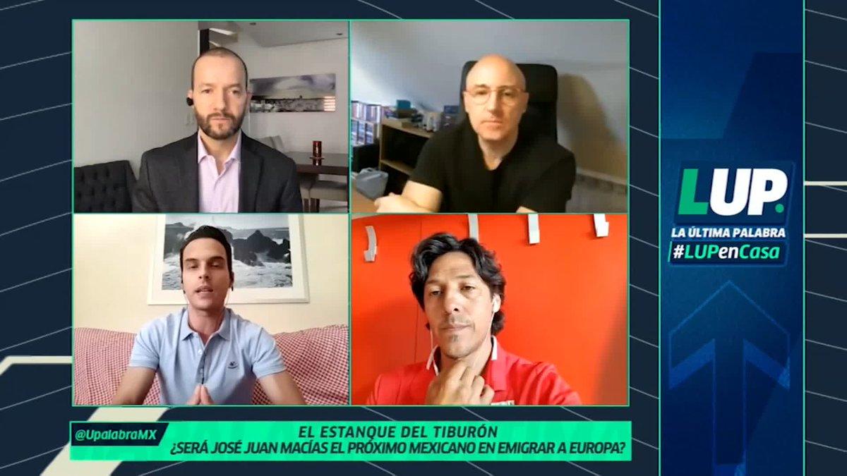 """""""TIENE QUE SER EL PRÓXIMO DELANTERO MEXICANO QUE VENGA AL FUTBOL EUROPEO""""   #LUPenCasa Así se expresaron @plazacasals & @MundoMaldini sobre José Juan Macías   """"TIENE TODOS LOS COMPONENTES PARA SER EL DELANTERO DEL FUTURO EN LA SELECCIÓN MEXICANA Y TRIUNFAR EN EUROPA"""" https://t.co/5eGZBeyLxm"""