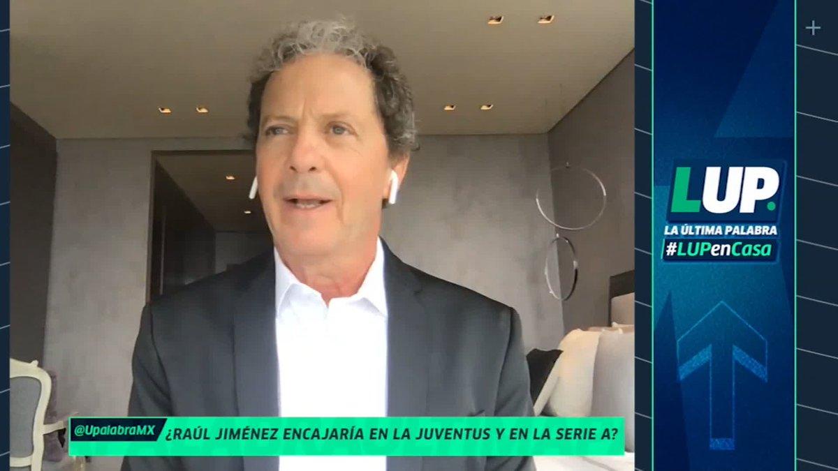 """""""NO TIENE QUE IRSE A ITALIA Y TIENE QUE QUEDARSE EN INGLATERRA EN UN EQUIPO MÁS IMPORTANTE""""   #LUPenCasa @RusoEl23 está convencido de que Raúl Jiménez debe permanecer en la Premier League https://t.co/PphRpVEyUE"""