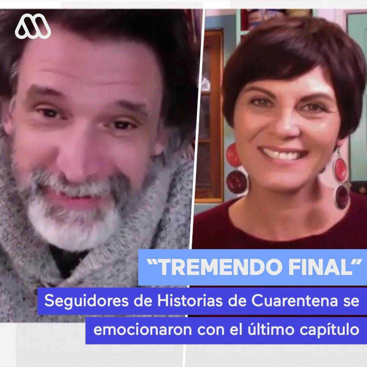 """""""Tremendo final"""": Seguidores de #HistoriasDeCuarentena se emocionaron con el último capítulo >> https://t.co/1TpldNj2eu https://t.co/0CMzgV66d4"""