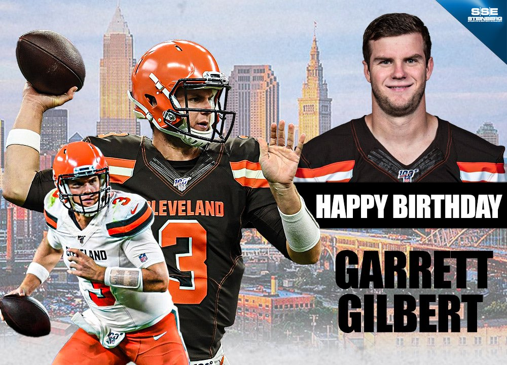 Happy birthday to the man Garrett Gilbert! We hope your day has been just as fantastic as you are Garrett! Here's to many more GG! #Family #FamilyAlwayspic.twitter.com/EyAbd0VDIW