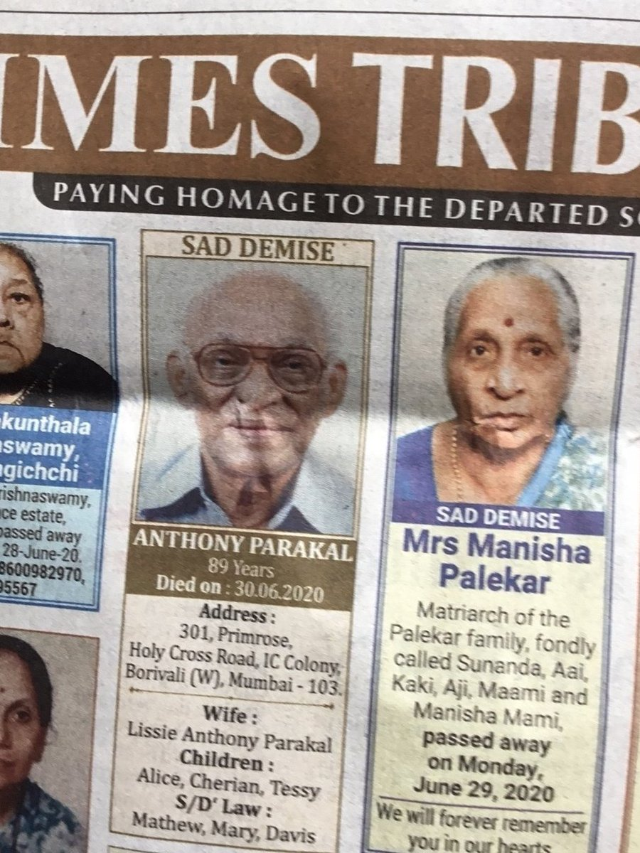 For generations of newspaper readers in Bombay, this man was a legend. For five decades from 1955, he wrote more than 4,000 letters to the editor. He stopped in 2005 and said hed use the time to pick arguments with his wife. pressreader.com/india/the-time…