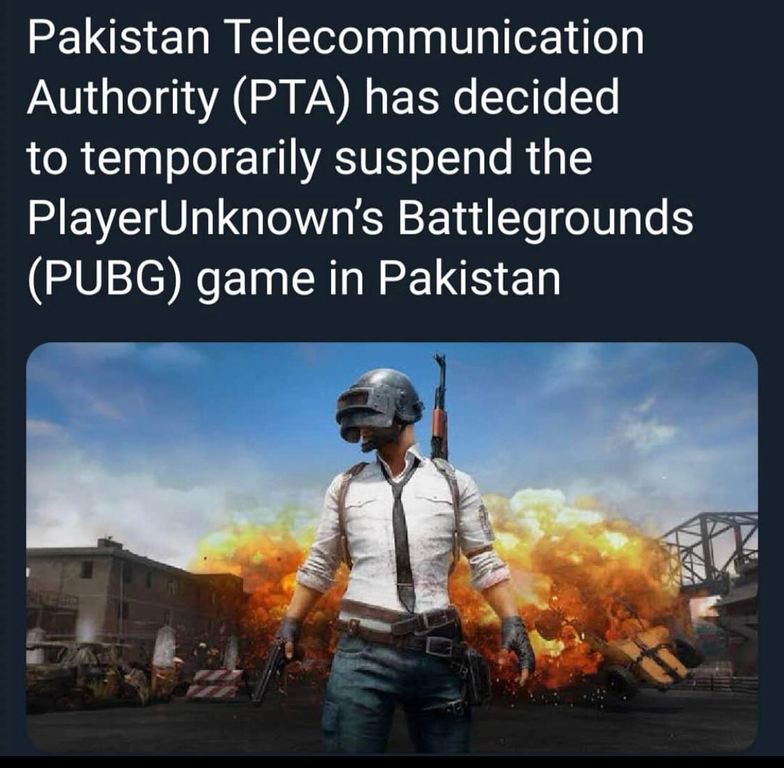 #PUBG Banned! Retweet Without Comment  if You are Satified on This Bane Retweet With Comment if You are not Satified #pubgban #nobanpubg #PUBGMOBILE pic.twitter.com/VeBDvaGXvT