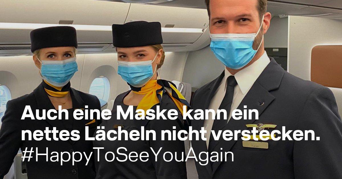 Schön, dich wieder zu sehen. Schön, dich wieder zu fliegen. #HappyToSeeYouAgain https://t.co/DRin5XwU2r