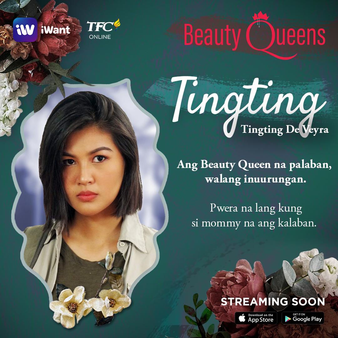 Winwyn Marquez is Tingting De Veyra. Palaban, walang hindi inuurungan, except ang kanyang Mommy. Abangan ang newest iWant Original Series na #BeautyQueens on TFC soon! #BeautyQueensOnTFC