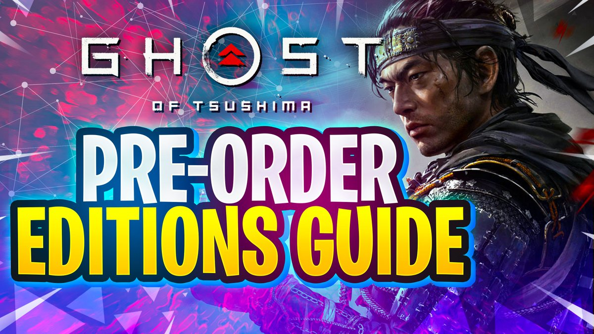 GHOST OF TSUSHIMA Pre-Order Guide & Pre-Order Bonuses youtu.be/v1IX9N0wiiw #GhostofTsushima