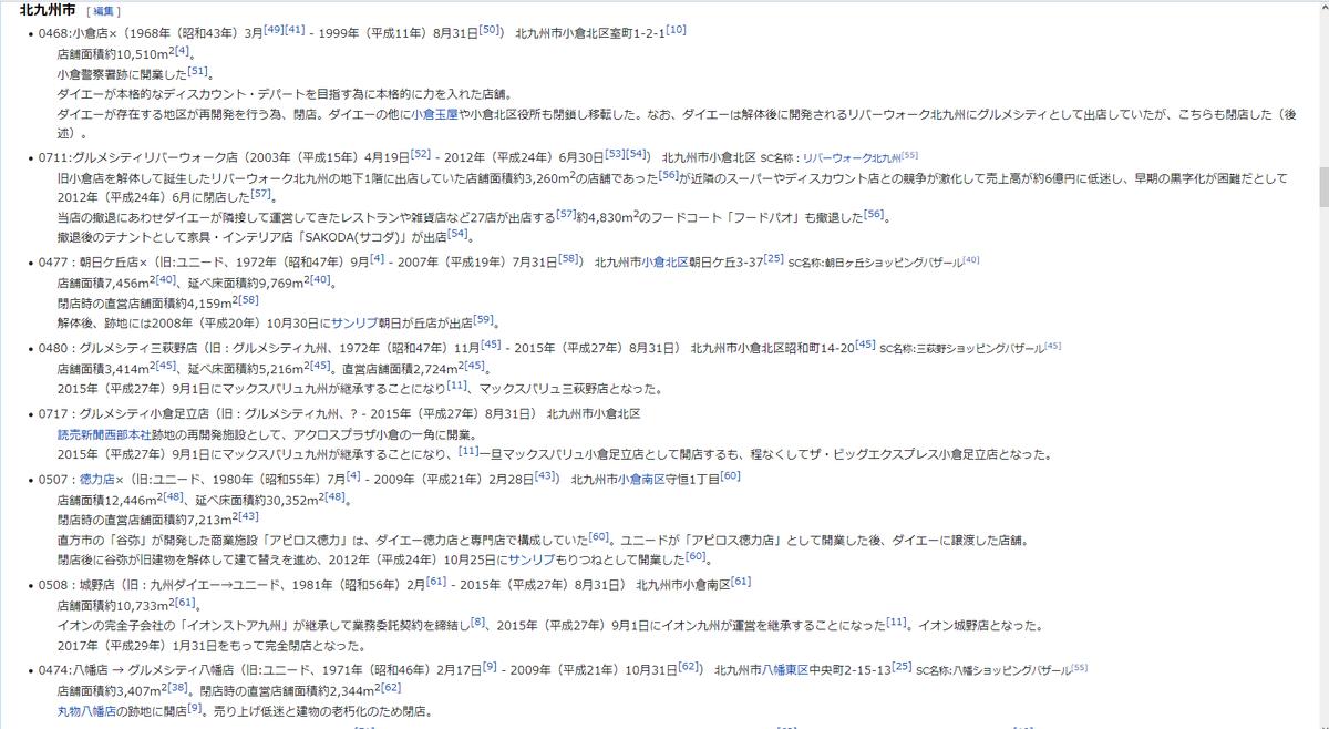 """とさか on Twitter: """"ちなみにこちら「カテゴリ:ダイエーの歴史」を ..."""