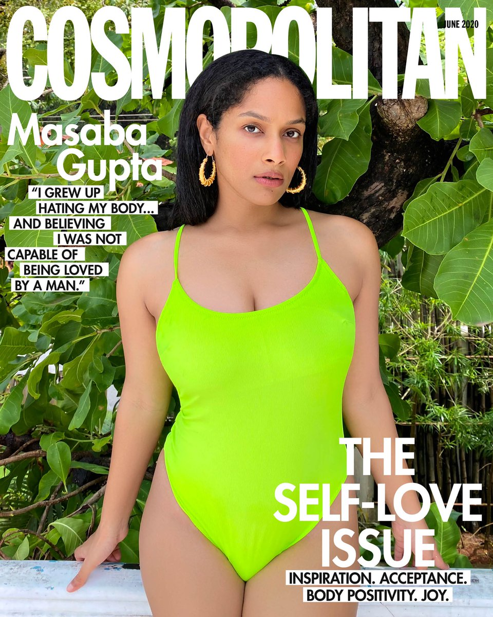 Have you DOWNLOADED your FREE COPY of @cosmoindia's Self-Love Issue yet? Our fourth, Digital Covergirl is a designer, beauty entrepreneur, and social media icon...Masaba Gupta.  To download your free copy of Cosmopolitan India click on the link below.  https://t.co/ch3lx24bK9 https://t.co/3nHt5jbP9Y