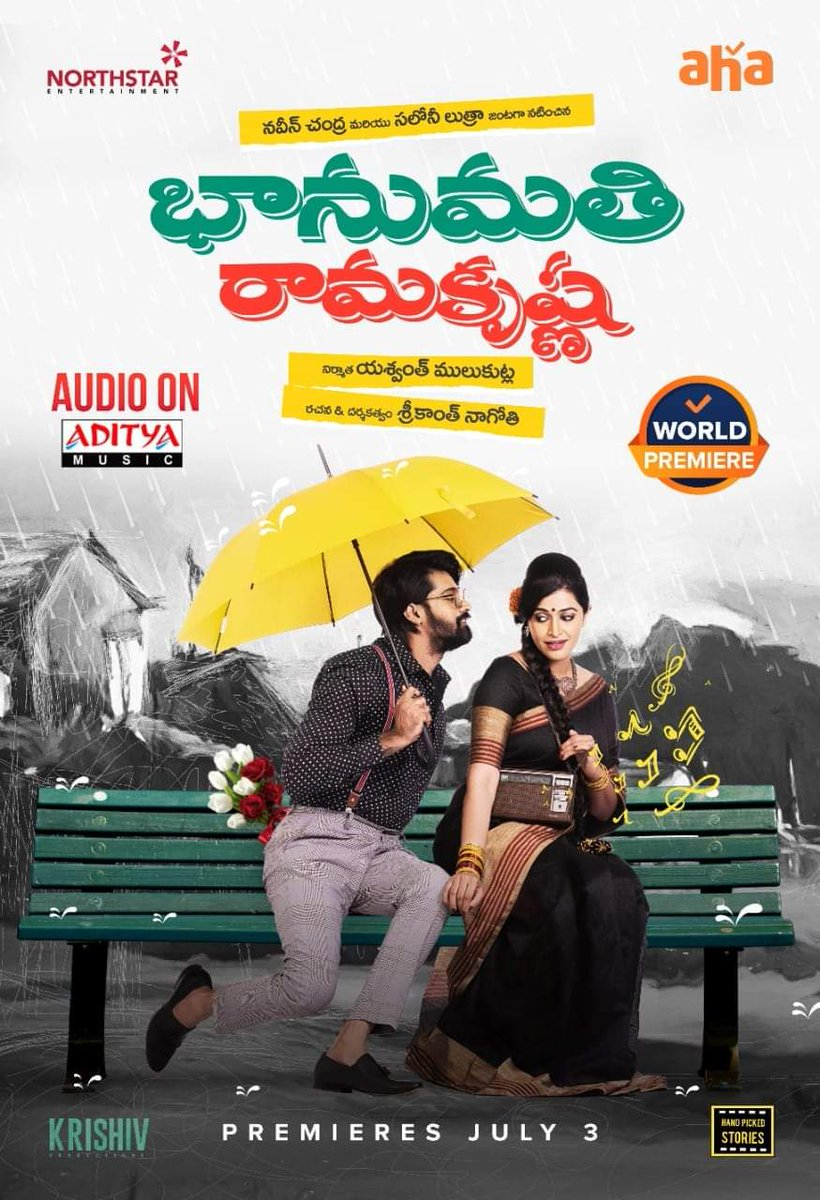 Miss Bhanumati (Bhanumathi & Ramakrishna) 2021 Hindi Dubbed 720p HDTVRip 600MB Download