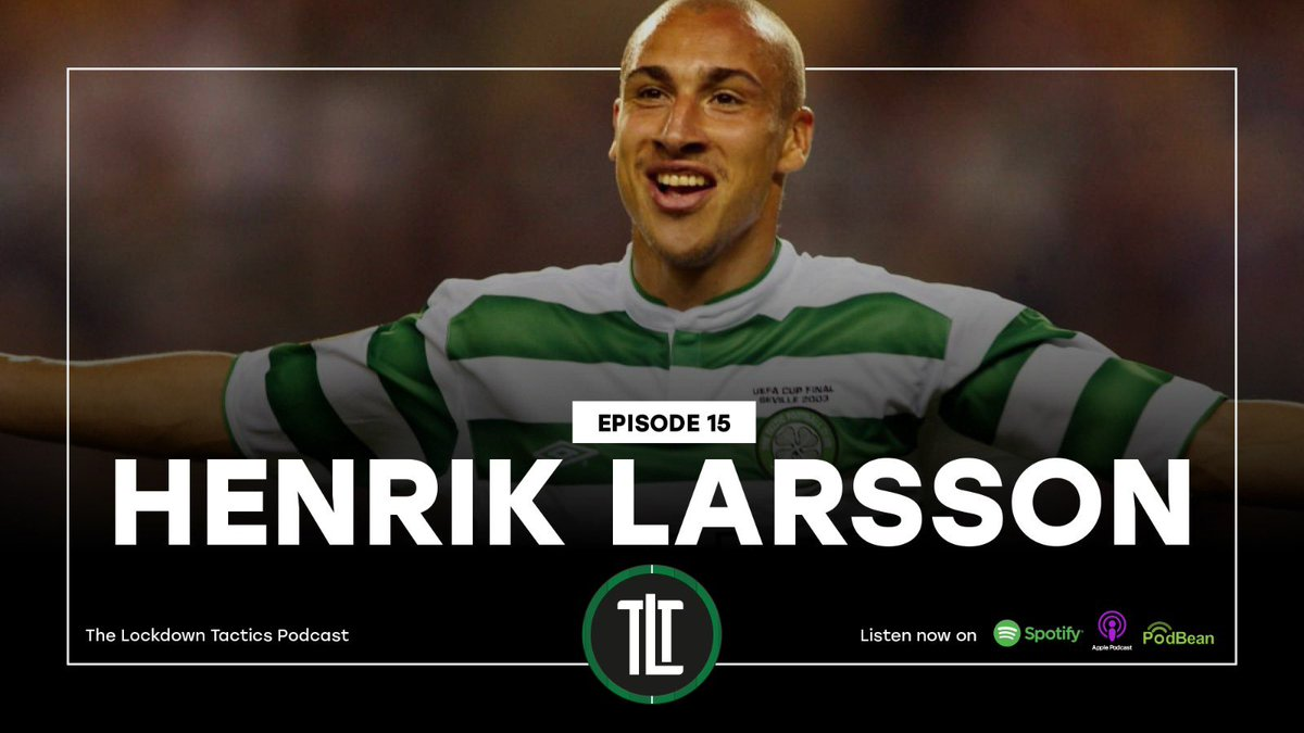 ⏰ NEW EPISODE ⏰  Our latest podcast with Henrik Larsson is available NOW! ⚽️  In this powerful interview, the @CelticFC and @FCBarcelona legend dives into not only his playing and managing career, but personal struggles with #mentalhealth and the importance of speaking out! 🙌 https://t.co/BfOs5SJzbW