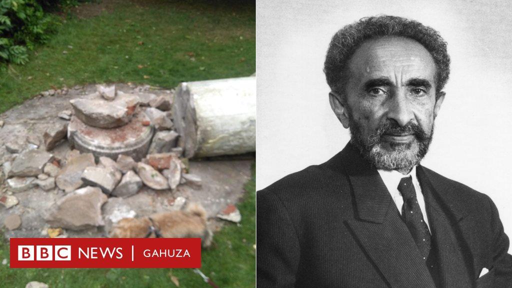 #HaileSelassie - #Ethiopia: Ishusho y'uwahoze ari umwami w'abami yabomowe i #London  https://t.co/1lBwznfIHd https://t.co/EfIhHH1Y0b