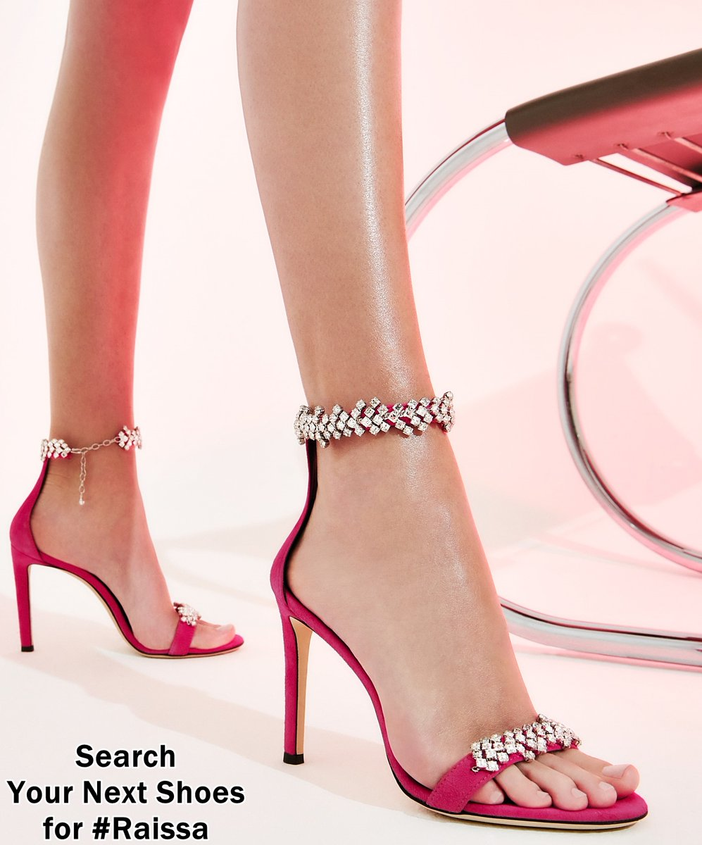 On a scale of 1-10, these pink crystal dress #heels from #giuseppezanotti with crystals at the ankle and toes are a......? #shoelover #shoesaddict #shoestagram #shoes  https://www.yournextshoes.com/raissa/ pic.twitter.com/l5gwT2eFwU