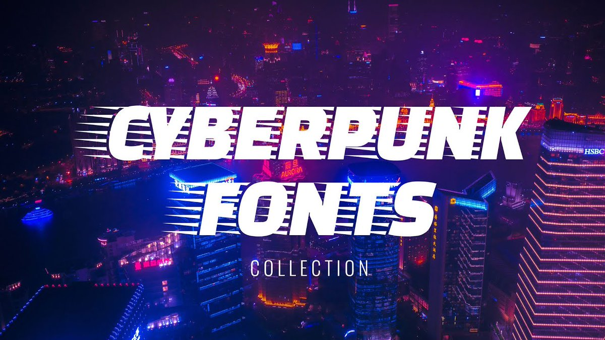 СYBERPUNK Fonts & Typography // Web Design Inspiration  ➠ https://t.co/7ZRna0ORUB  Credits: @greatscott_co @Signalnoise @ToshTak @PvanHalen https://t.co/OVU9ORFLbc