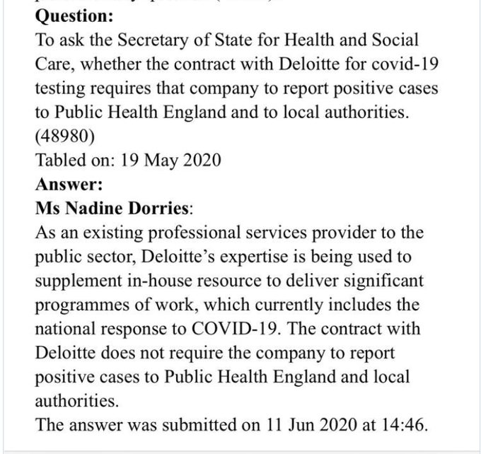 @NadineDorries Can you explain why such a loophole was put into the contract?