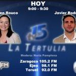 Image for the Tweet beginning: Hoy estarán en La Tertulia