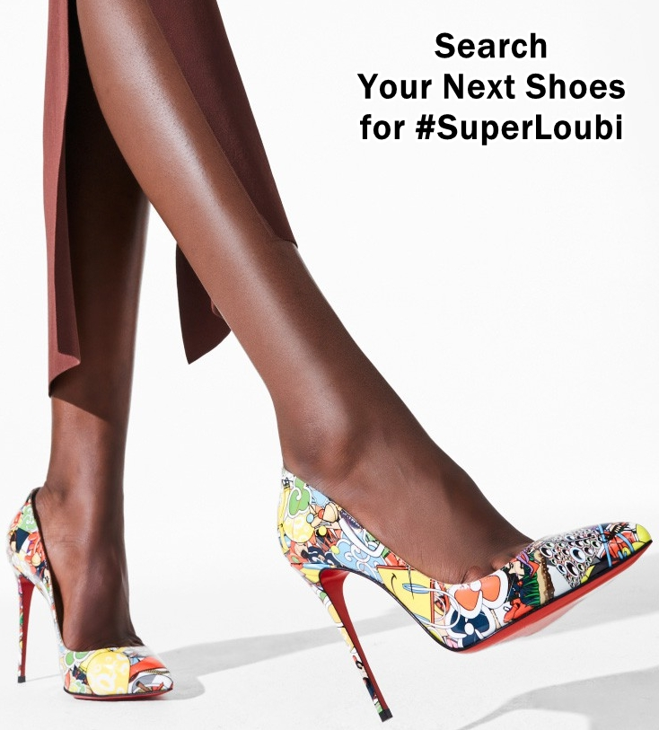 We've got a feeling you'll either HATE or LOVE these printed #christianlouboutin #stiletto #pumps that we're featuring today on Your Next Shoes! Which will it be? https://www.yournextshoes.com/superloubi/pic.twitter.com/ystEsexy3h