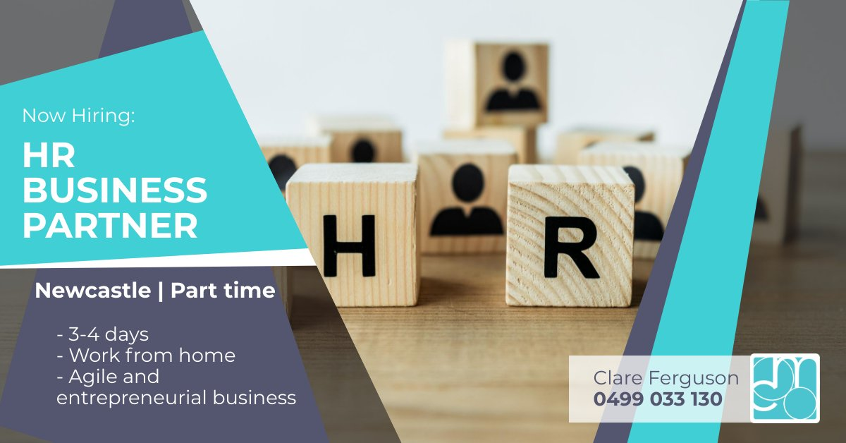 We're hiring!  HR Business Partner | Part time >> https://bit.ly/2BKqfHs Enjoy: - 3 or 4 day work week - flexibility to work from home - joining an organisation with operations in Australia, NZ and the UK.  If you're up for the challenge, reach out to Clare: 0499 033 130pic.twitter.com/I58GFKLeRw