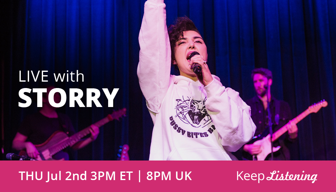 A multi-dimensional artist, @storrymusic performs Mozart arias with as much confidence as hip hop, R&B, and gospel. Live in our Online Listening Room ✨ Thursday at 3pm ET // 8pm UK: https://t.co/959rmymlEV https://t.co/fJDIZLtMYe