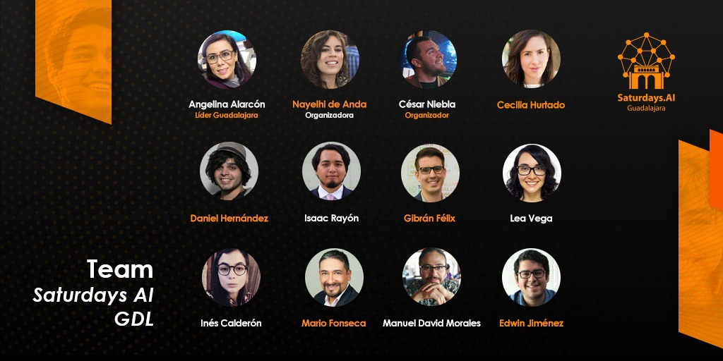 Special shout-out 2 http://Saturdays.AI #Guadalajara team led by @angie24ar that on Saturday celebrate their #demoday .   Their commitment, walking the extra-mile in these uncertain times, teaching #machinelearning w. passion, building w. hope,  makes us super proud.  1/pic.twitter.com/UipZND2bv0