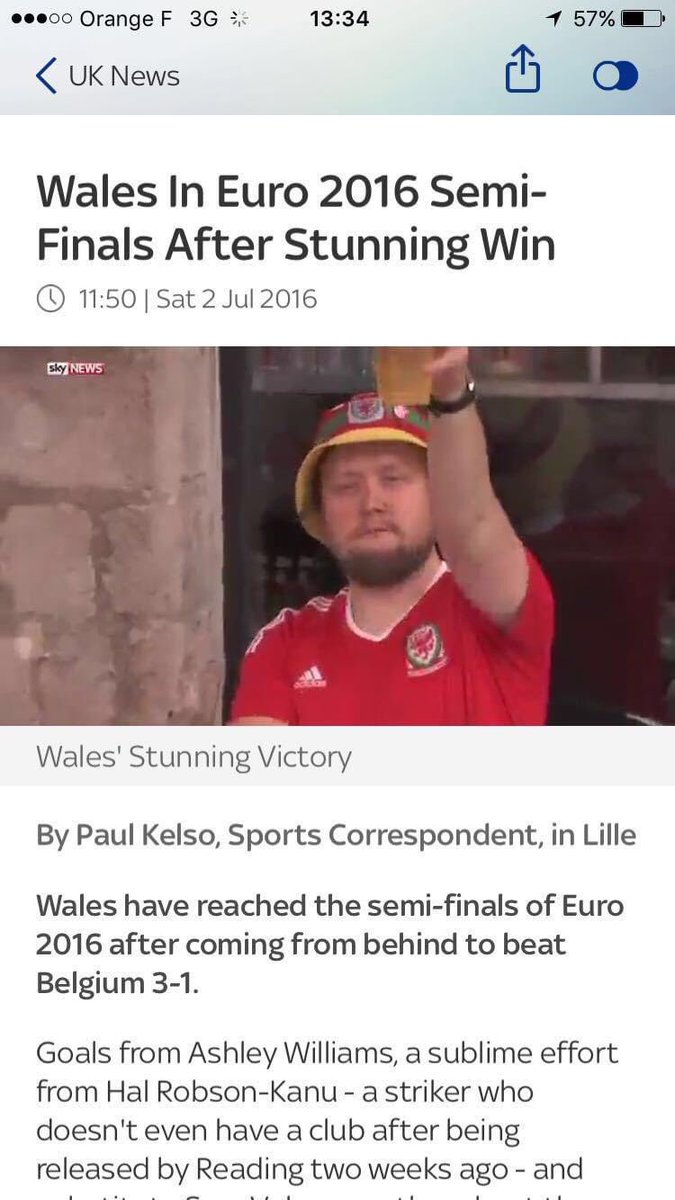 The day I made it on sky news 😂