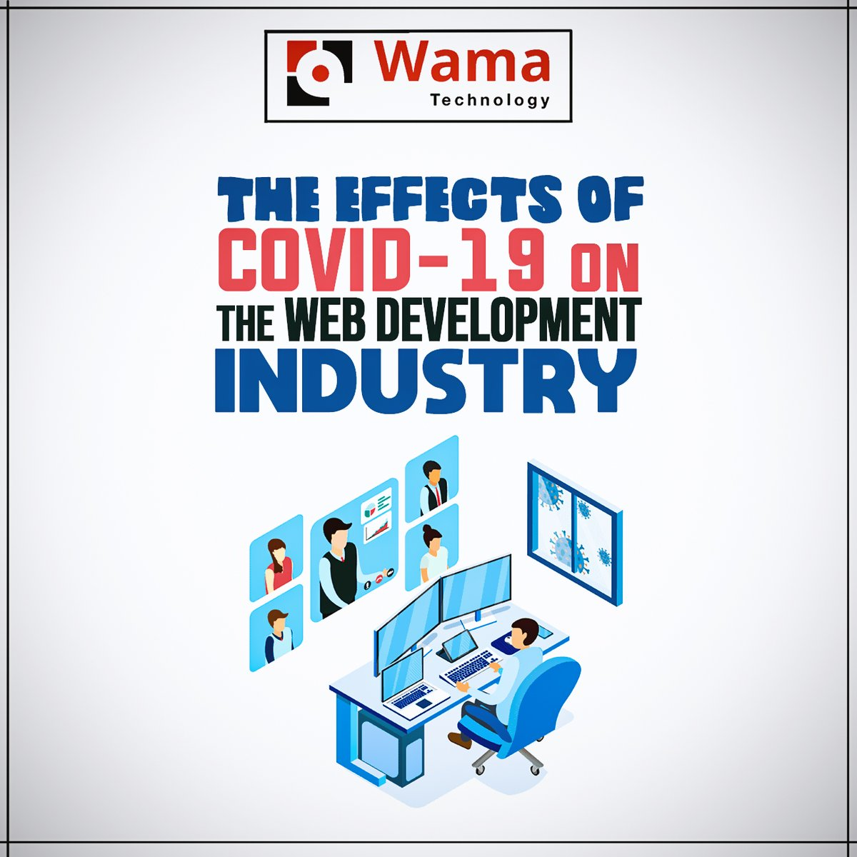 The impact of the pandemic is humongous on the current business circumstances. each industry is attempting to defeat its result. Mobile & Web applications plays a crucial role in this situation. #COVIDー19  #softwaredevelopment #wamatechnology #mobileapplications #webdevelopment https://t.co/xCB5Z85yTd
