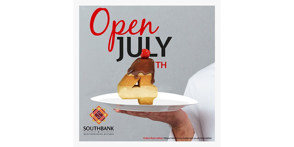 We reopen our doors on 4th of July, everyone welcome back!  Online reservations!   #southbankkebab #reopening #4thjuly #waterloo #southbank #london #londonfood #londonrestaurant #londonfoodie #goodfood #foodie #instafood  #meatlover #kebab