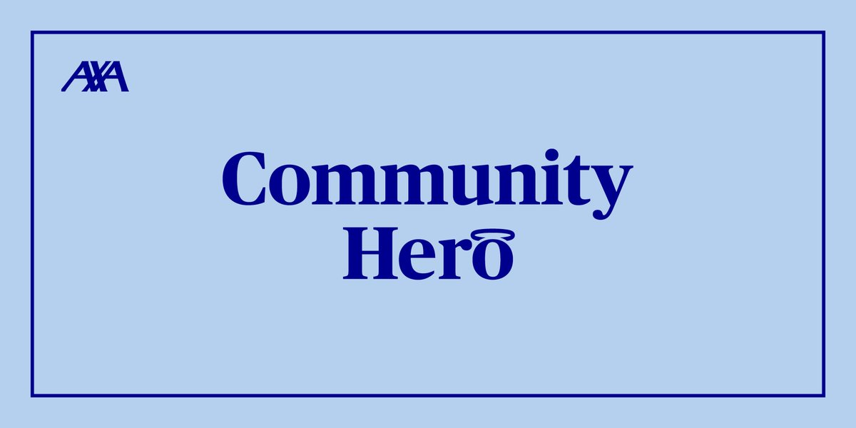Heroes come in all forms, but they all go above and beyond for the people around them. Their stories deserve to be shared and celebrated. Now is your chance to celebrate them with #AXACommunityHero!   If you know a hero, we'd love to hear from you: https://t.co/P39Nm4c8yF https://t.co/YEeUVY42nI