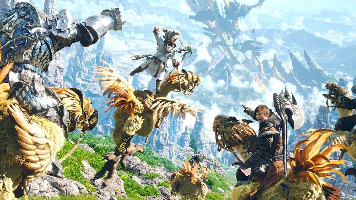 The next Final Fantasy 14 update has a new release date trib.al/ARBmz0T