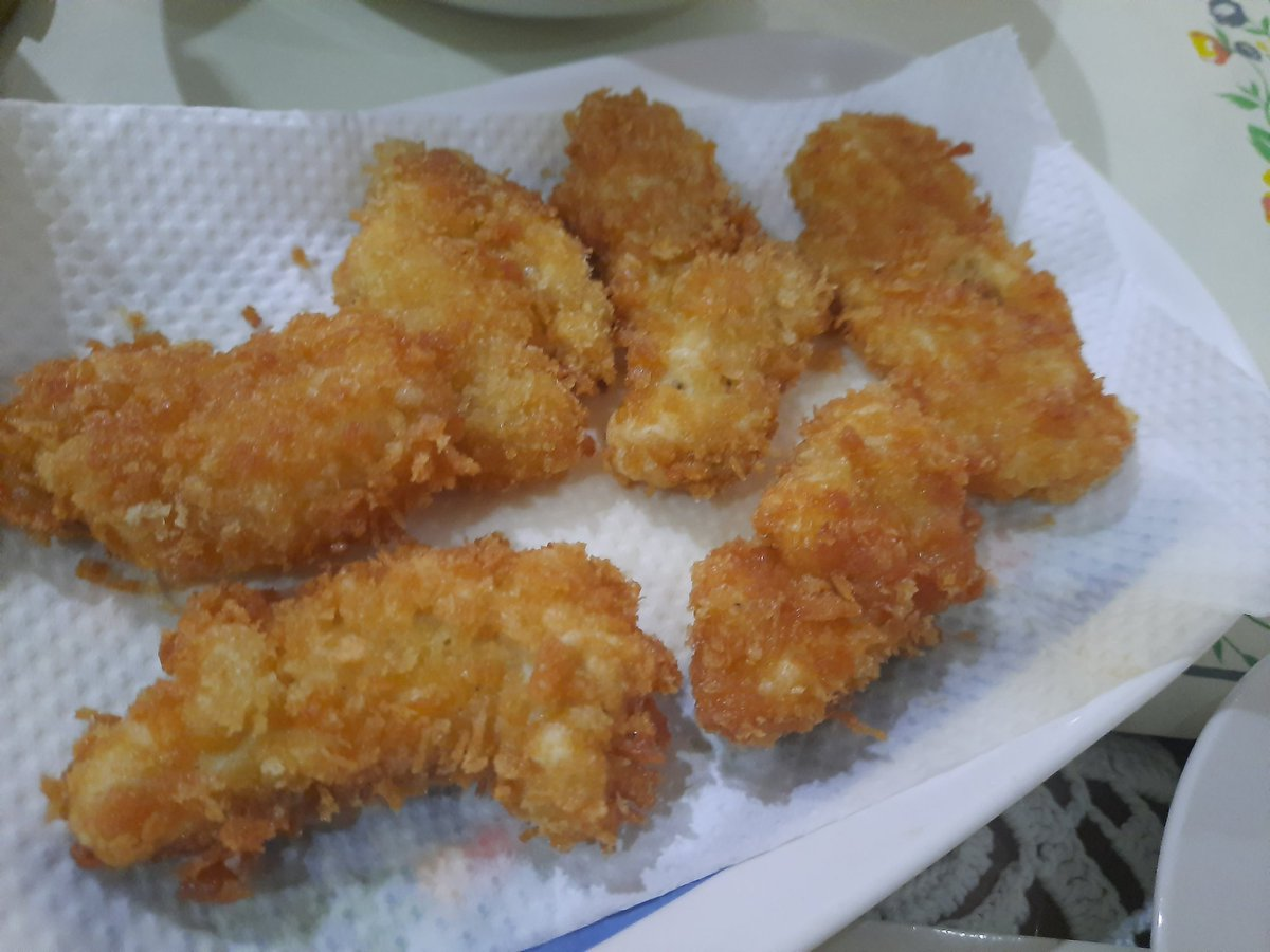 Fish fillet but for my nephew..it's nuggets!   #food #foodie #yummy