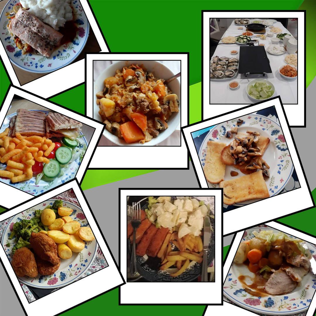 Check out some of the amazing food our trainees are eating at home!  #eatwelldogood #homecooking #yummy #healthy