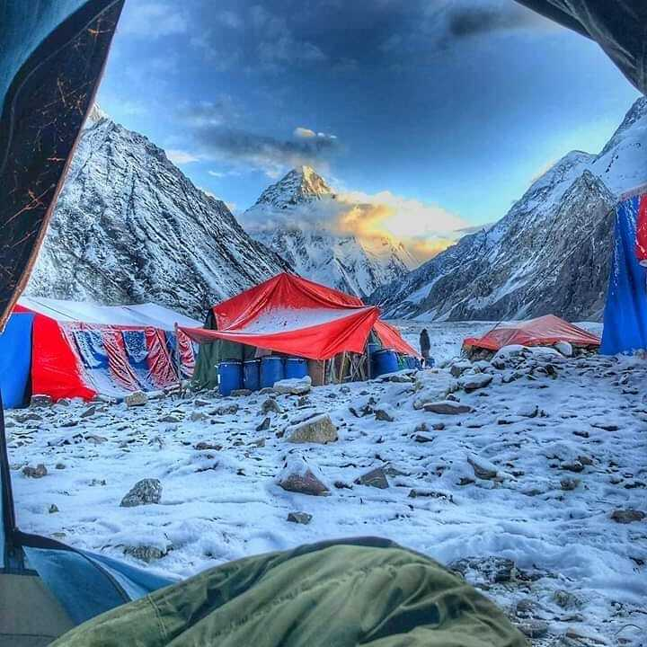 K2 base camp trek 2019. Photo credit: Kalim View of K2 from Concordia. #k2 #camping #trekking #mountaineering #adventure #karakorum #himalaya #nature #hikers #hiking #Baltoro #backpacking https://t.co/y3EnJwiy9V https://t.co/oPPzdnqOcK