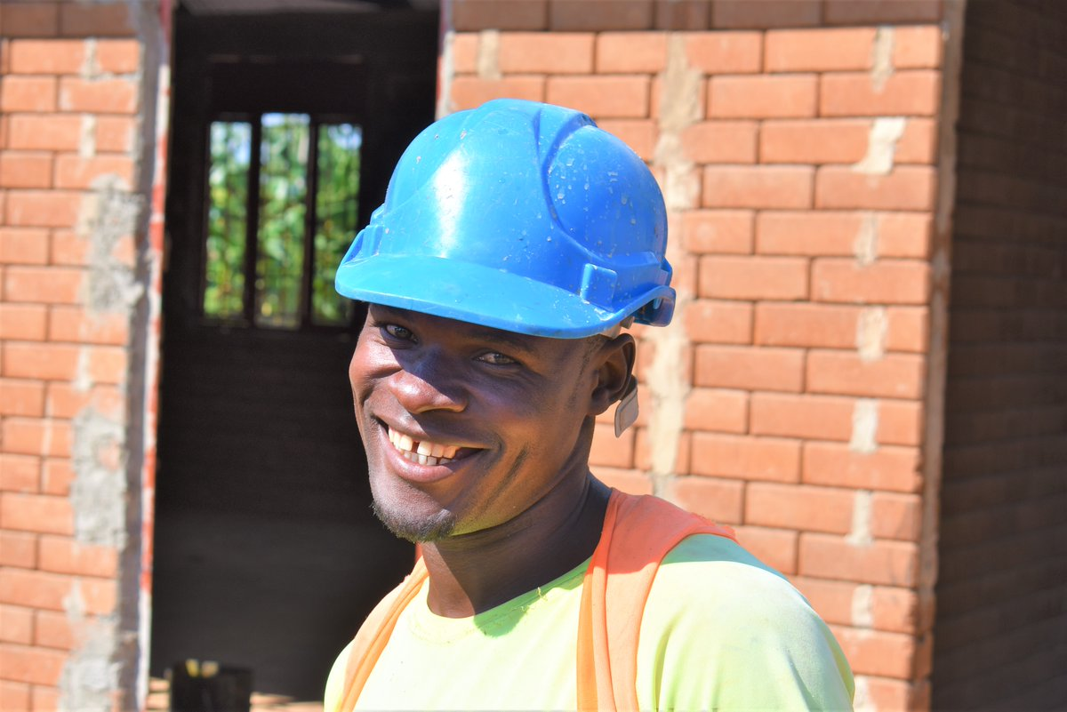 Dennis trained with HYT in 2016 and has been with us ever since. An excellent addition to any team, Dennis is now taking on more responsibility as he eyes up a management position.   #develop #train #career #construction #build #construct #uganda #africa #ISSB #HYT #vocationpic.twitter.com/RKWyiChqY1
