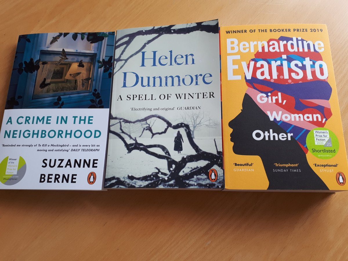 Some summer reading sorted! Continuing to read @WomensPrize past & present titles after the wonderful Bel Canto & Hamnet https://t.co/0QOwCMmf7T