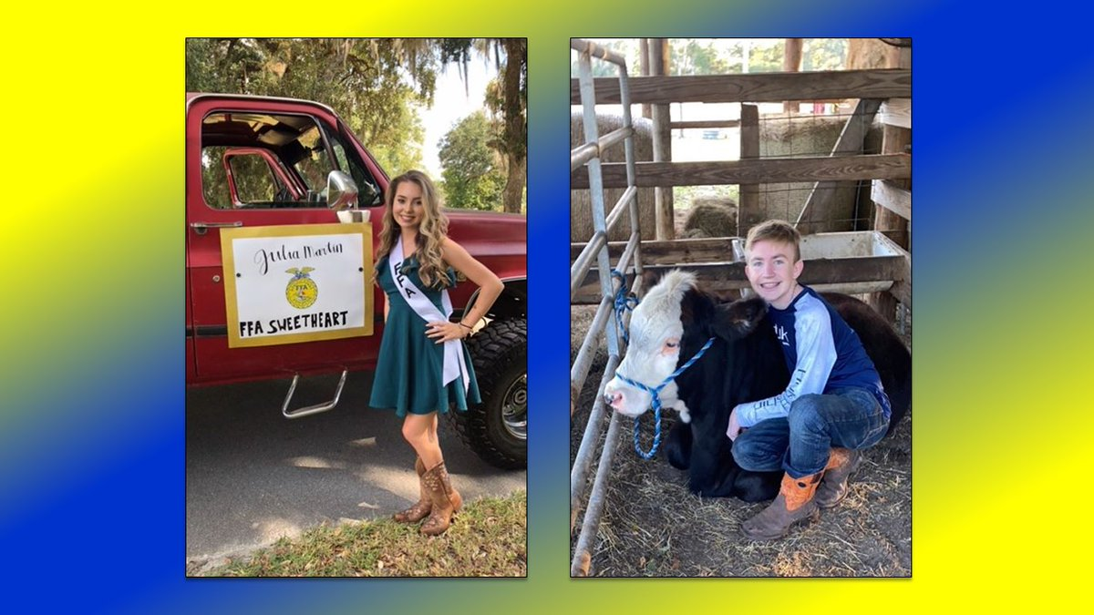 SENIOR SALUTE - Newberry FFA, @AlachuaSchools 🎓  From crowns to cows, these seniors are extra special, and are currently celebrating a special time in life before heading out into the world after graduation.   Congratulations to the members of the #Classof2020 from Newberry FFA! https://t.co/KKLw4nuTW0