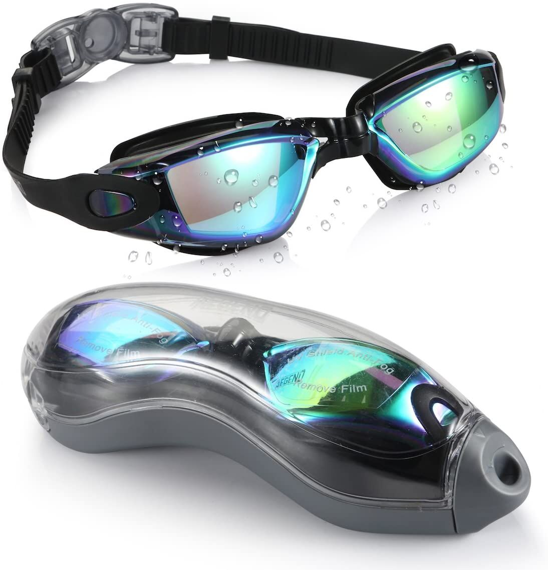 Just saw this on Amazon: Aegend Swim #Goggles, Swimming Goggles No Leaking Anti Fog UV Protection Triathlon #Swim Goggles with Free Protection Case for Adult Men Women Youth Kids Child, Multiple Choice by Aegend for $12.99 https://amzn.to/2NyF4PS @amazonpic.twitter.com/6d4zrqrbtw