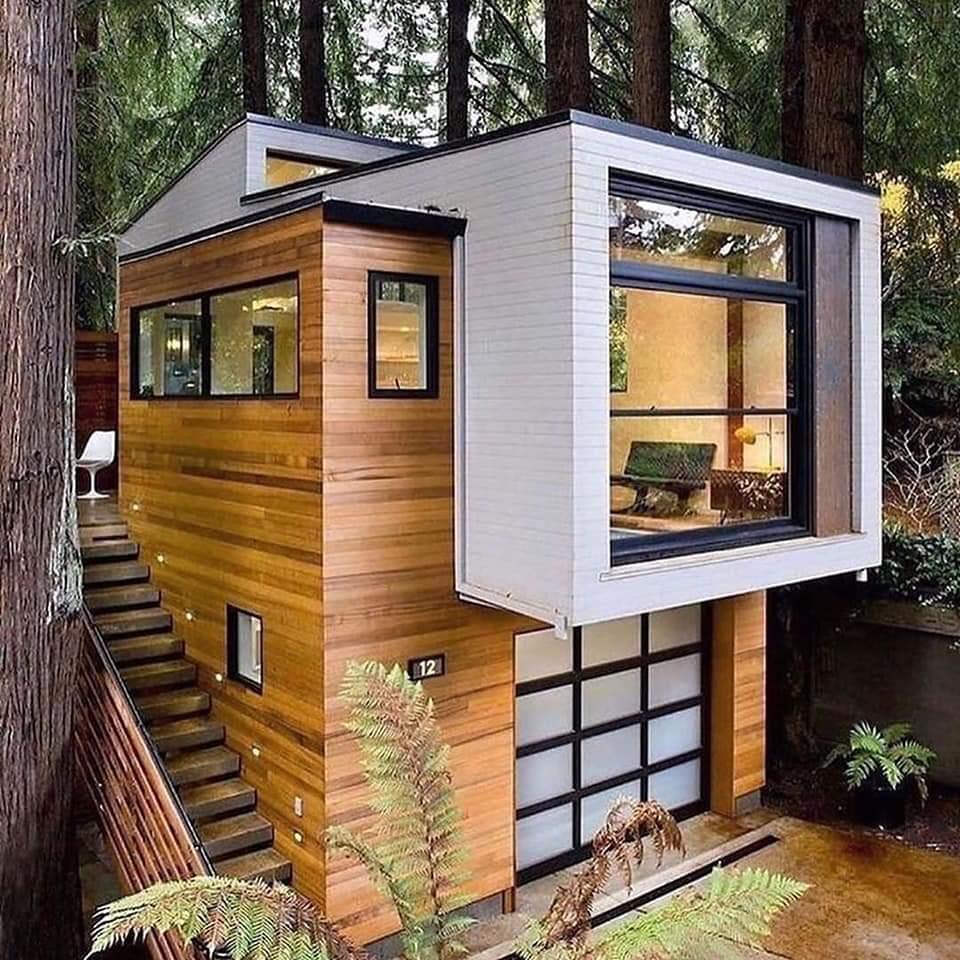 Beautiful Tiny House Design   #Engineering #architecture #homedesign #interiordesign #bedroom #designer #designinspiration #EngineeringPassionpic.twitter.com/0jaiRBo2TA