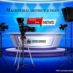 Image for the Tweet beginning: Magisterial district judges | News,