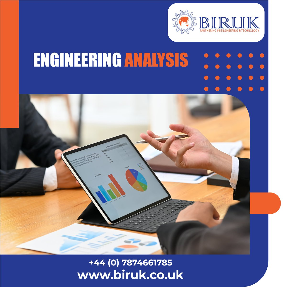 Engineering Analysis-Strive for perfection! Visit http://www.biruk.co.uk  to know more. #biruklimited #engineeringanalysis #engineeringsolutions #digitalmarketingservices #engineeringdesign #Webdesignerpic.twitter.com/0S5ETD39SC
