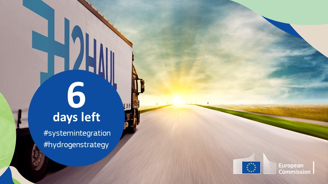 With 16 #zeroemission heavy-duty fuel cell trucks, the #H2020-funded @H2Haul project will contribute to the #decarbonisation of the #roadtransport sector. ➡️ h2haul.eu