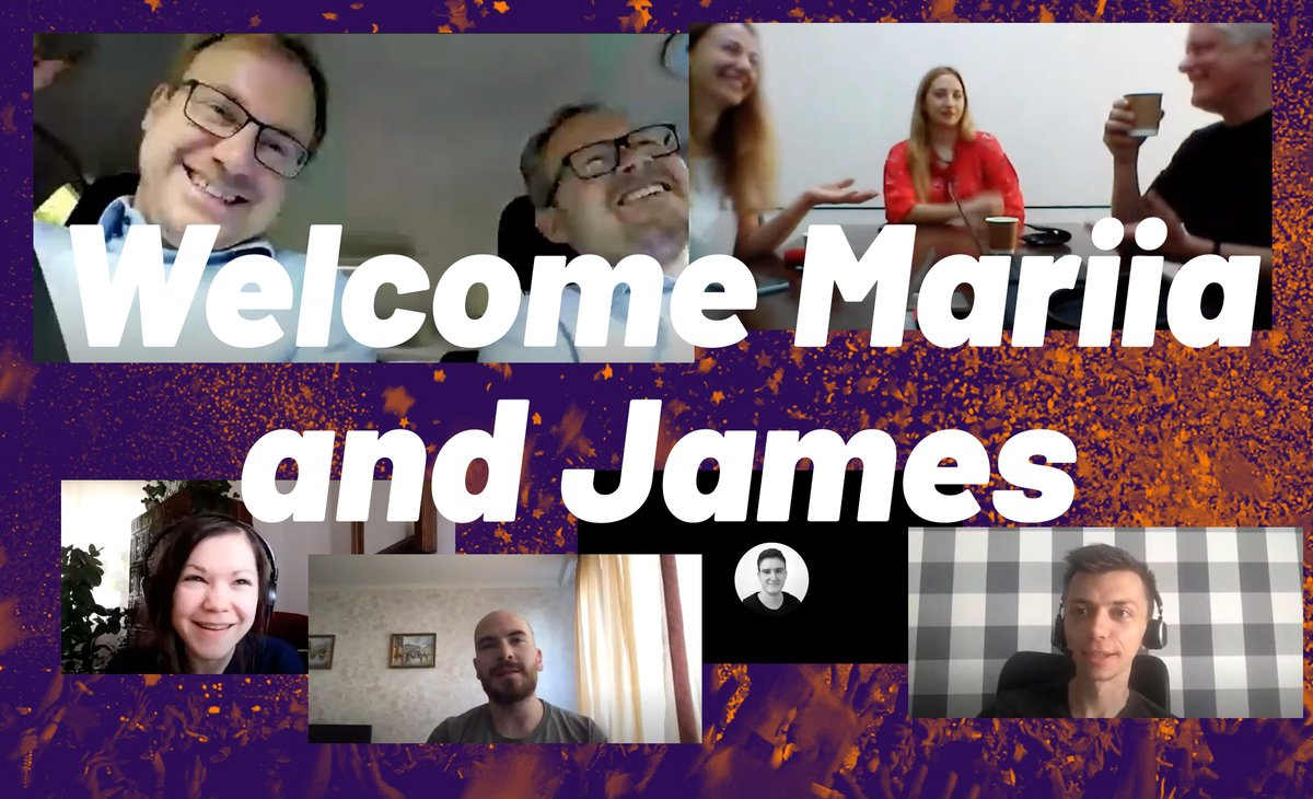 Great Morning as we welcomed Maria Mokhareva and James Hydzik to the #tagion team with an online introduction breakfast meeting. We 🖤 all technology that transcendence distances, borders, and cultures. https://t.co/eH4ZYd8pw4