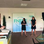 Image for the Tweet beginning: Ce matin, @AnneS_Fernandez et @Audrey_Rouyre