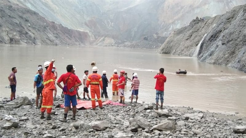 At least 113 people died after a landslide at a jade mine in northern Myanmar aje.io/5pt5f