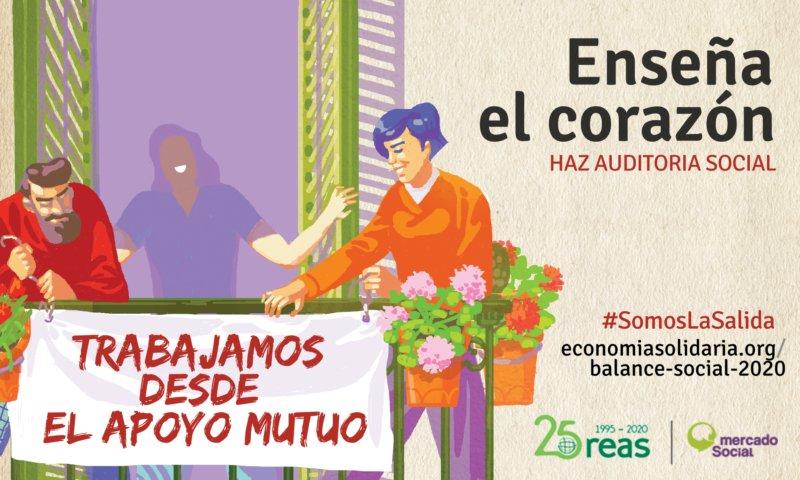 Hemos comenzado la II fase de la Auditoría Social. #EnseñaElCorazón porque las entidades de #EconomíaSolidaria #SomosLaSalida https://t.co/eKHKvIFX71