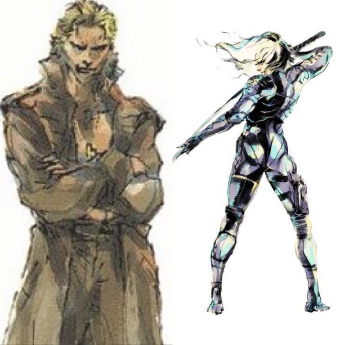 Tonight at 8pm BST we will be carrying on with MGS4! #MetalGearSolid But in the meantime, who out of the long haired blonde bois of the series would win in a straight up fist fight? Liquid Snake or Raiden?<br>http://pic.twitter.com/PLRpU3jZ8n