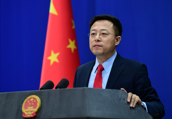 China has kept close communication with the US on flying back US diplomats to China, and provided assistance in arranging chartered flights for those diplomats, said Zhao Lijian, FM spokesperson. https://t.co/E9wLacxbYz